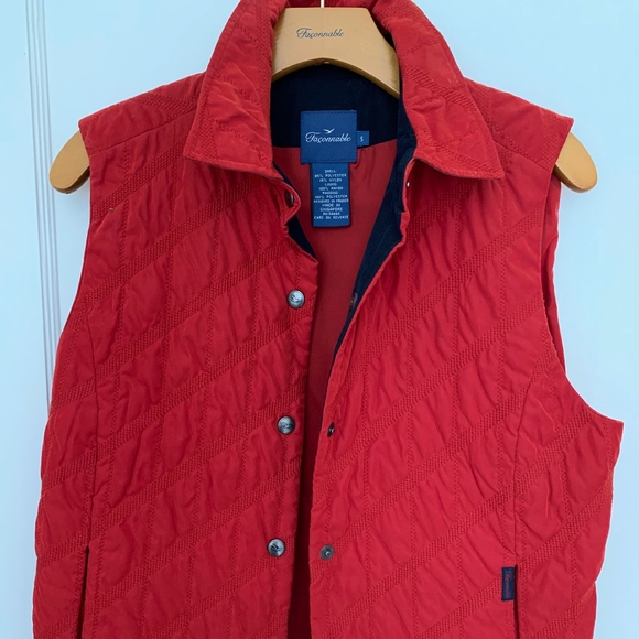 Faconnable Jackets & Blazers - Faconnable Women's Quilted Vest